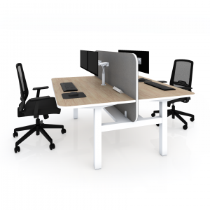 PS Fixed Height – Square Leg Workstation